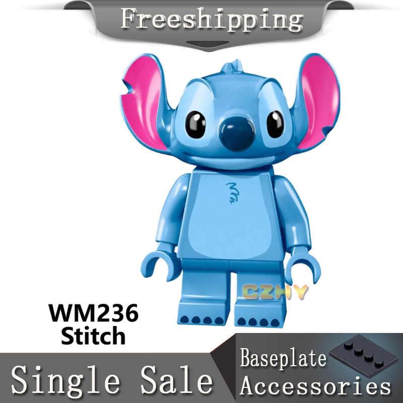 واحد بيع غرزة Gremlins ET إليوت انجي الأداة البقاء Puft الفنلندي شريط البوب أرقام كتل لعب للأطفال هدية WM236
