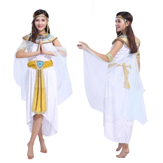 65ec330347aa Costumi di Halloween per adulti di sesso femminile di ruolo Cleopatra  costume costumi in maschera vestiti