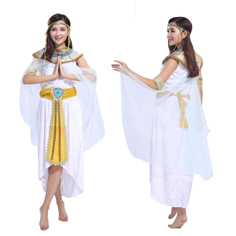 Halloween costumes female adult role-playing Cleopatra costume masquerade costumes performance clothing