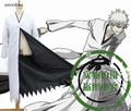 Аниме Bleach Куросаки ичиго Bankai Форма Косплей Костюм Куртка Только Черный/Белый Плащ в наличии Бесплатная доставка