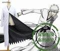 Anime Bleach Kurosaki ichigo Bankai Cosplay Uniforme Chaqueta Negro/Blanco Capa en El Envío libre