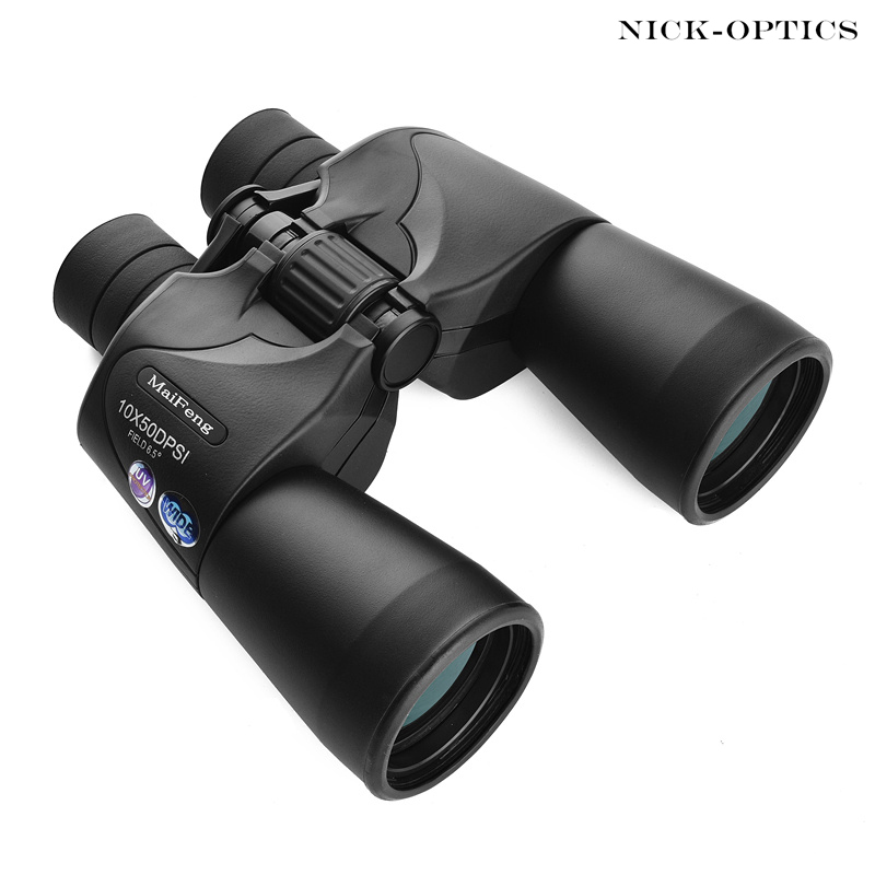 Russian Military Binoculars Hd 10X50 Nitrogen Waterproof Telescope Portable Long Range binoculo for Hunting Lll Night