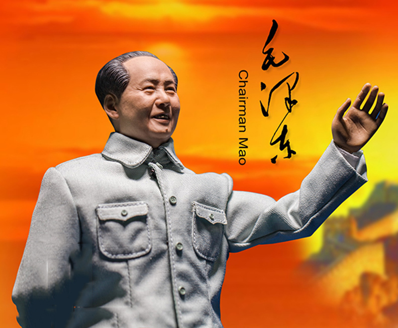 1/6 Scale China Great Leader Chairman Mao Zedong Movable Sculpture SCULPTURE TIME  ST-009 the quotations from chairman mao tse tung the little red book chinese english books chariman comrade mao quotations