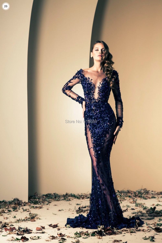 Aliexpress.com : Buy Ziad nakad prom dress 2016 Fashion Lace ...