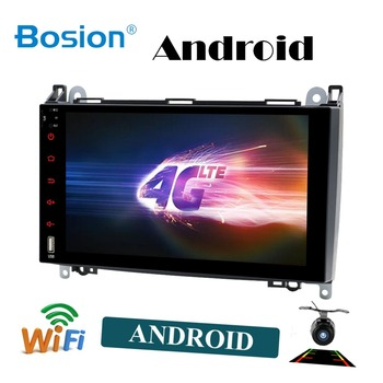 Bosion 2 din android 10,0 GPS para coche de navegación para Mercedes Benz B200 una clase B W169 W245 Viano Vito W639 Sprinter W906 radio de coche