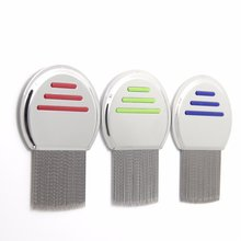 Lice Comb Treatment Louse Combs Nit Removal Removes Nits  Stainless Steel Brush For Kid Adult Professional Terminator Long Teeth