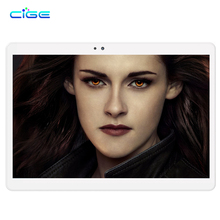 CIGE 10.1 inch Original 4G Phone Call SIM card Android 6.0 Octa Core CE Brand WiFi GPS FM Tablet pc 4GB+64GB Tablet Pc 1920x1200
