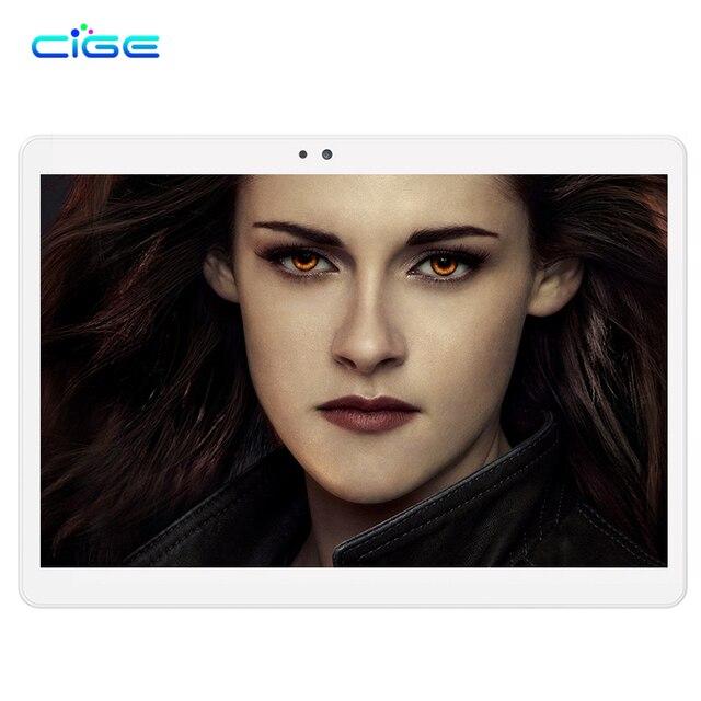 CIGE 10.1 inch Original 4G Phone Call SIM card Android 6.0 Octa Core CE Brand WiFi GPS FM Tablet pc 4GB+64GB Tablet Pc 1920x1200