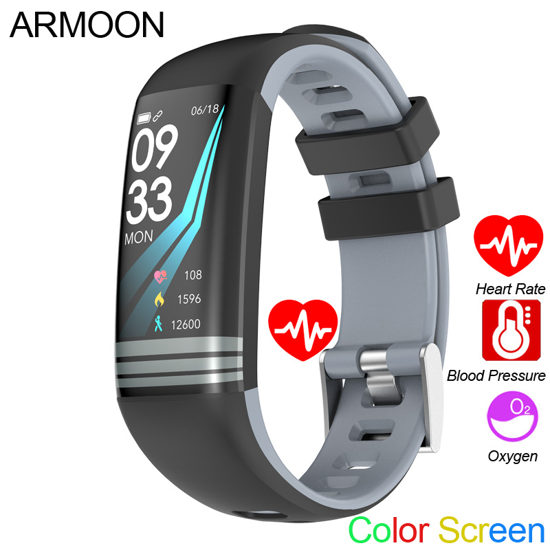 Smart Band G26 Android IOS Herz Rate Fitness Armband Schlaf Monitor Fitness Tracker Farbe Bildschirm Uhr Multi Sport Modus Band