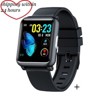 2019 Smart Watch H9 ECG PPG Square Smartwatch H9 Heart Rate Monitor Health Care Index Waterproof Blood Pressure Men New Watch