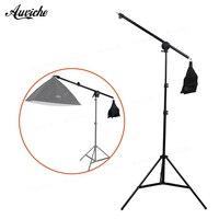 75 140cm 30 55 Studio Photo Telescopic Boom Arm Top Light W Sandbag With 2m Light
