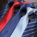 Плед мода галстук полосатые галстуки для мужчин бизнес галстуки 8 см шеи галстук черный галстук красный фиолетовый розовый 20 шт./лот смешанные