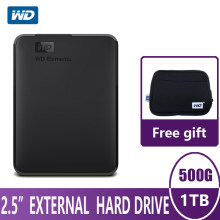 WD Elements Portable External Hard Drive Disk HD 500G 1TB High capacity SATA USB 3.0 Storage Device for PC Computer Laptop(China)