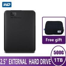 WD Elements Portable External Hard Drive Disk HD 500G 1TB Hi