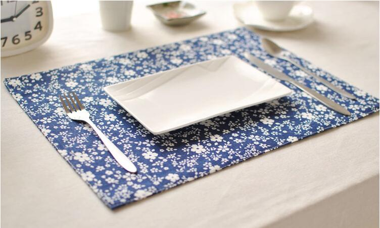 eco friendly mats pads placemat dining table mats traditional chinese table pad coaster table decoration kitchen wares - Kitchen Table Mats