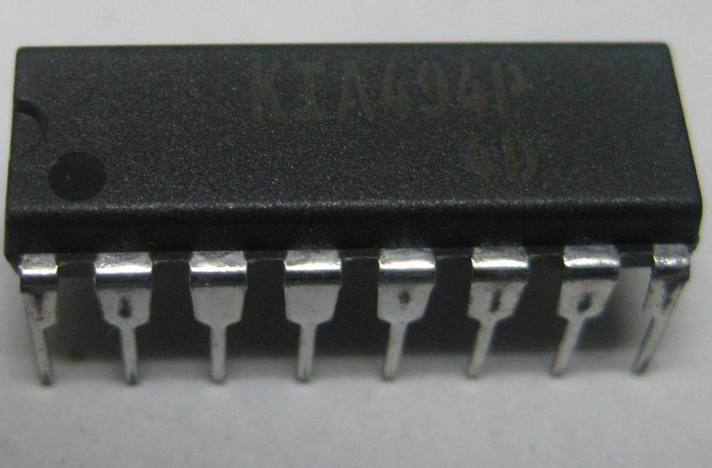 4pcs/lot KIA494P KIA494 DIP-16 In Stock