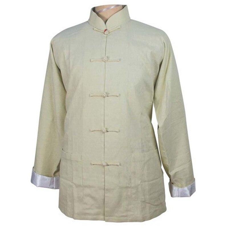 M Traditionnelle Xxl Black Vintage beige Hommes Xl Costume L Xxxl Fu Kung Vêtements Taille navy Des Lin Bouton Beige Manteau Wn037 Blue Coton Veste Tang Chinois zMpGSUVq