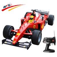 RC автомобиль 1:6 модель автомобиля F1 формула гоночный автомобиль пульт дистанционного управления Спортивный гоночный автомобиль с 4 запасны