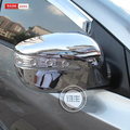 Free Shipping Rearview mirror cover for 2010 - 14 Hyundai Ix35 frame decoration mirror chrome plated fit for IX35