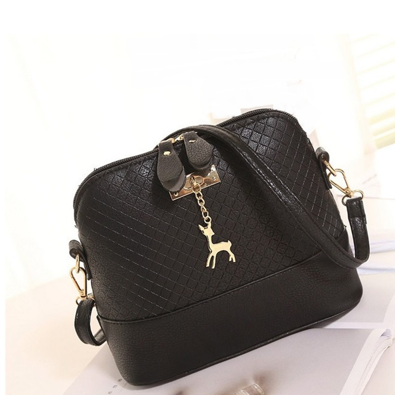 2017New Lady Casual Deer Indentation Shells Korean Version Of The Shoulder Messenger Bag Wild Tide Package11228