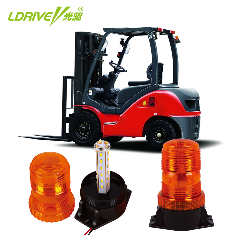 LDRIVE 12-30V Yellow LED Strobe Warning Beacon Light Security Alarm Strobe Signal Mini Flashing Lamp for School Bus Truck Cars amber 30 led emergency strobe flashing warning light 12v 24v yellow warn beacon lights signal lamp for school bus truck atv utv