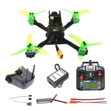 135mm Mini F3 OSD 2S RC FPV Racing Drone Aircraft 10A 7500KV Brushless 2.4G 6ch BNF RTF Set 1200TVL HD Camera Goggles Parts jmtf17840 d fpv 2 4g 6ch 130 rtf full set tl130h1 cc3d 520tvl hd camera 5 8g 32ch goggle rc mini racing quadrocopter drone