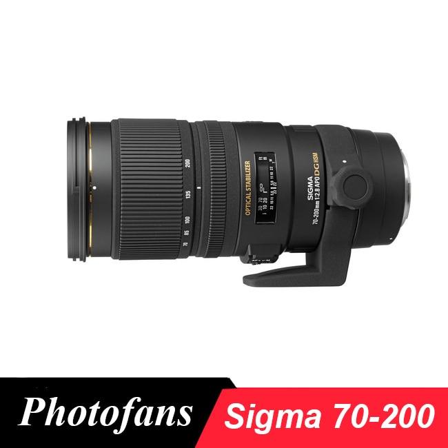 Sigma  70-200mm f/2.8 EX DG APO OS HSM genuine sigma apo 70 200mm f2 8 hsm ex dg os lens for nikon