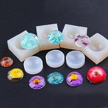 Литейной полушарии изготовления смолы подвеска формы кулон форма изделий ювелирных силиконовые