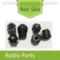 5Sets X Accessories Channel Knob And Volume Knob For Motorola A10 CP110 XTNI Radio