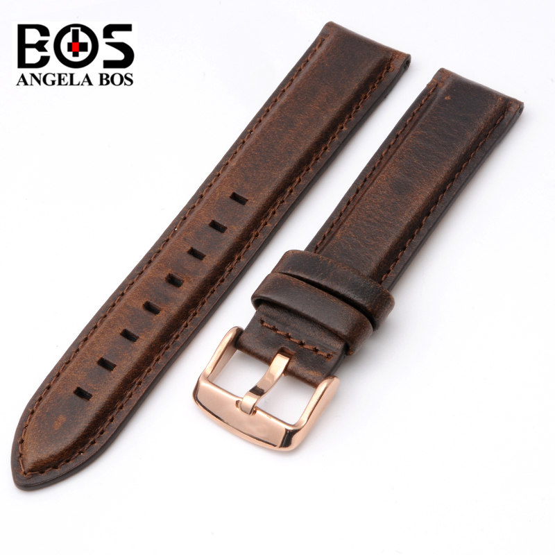 High Quality Genuine Calf Hide Leather For daniel wellington Watch Strap Band For DW Men & Women Accessories Watchband 18MM 20MM high quality genuine calf hide leather for diesel watch strap band for dz7257 dz7345 27mm 28mm 30mm 32mm 34mm man watchband tool