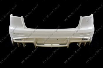 FRP סיבי זכוכית VS '17 Ver. אולטימטיבי סגנון גוף ערכת אחורי פגוש Fit עבור 2008-2012 האבולוציה EVO X 10 אחורי פגוש