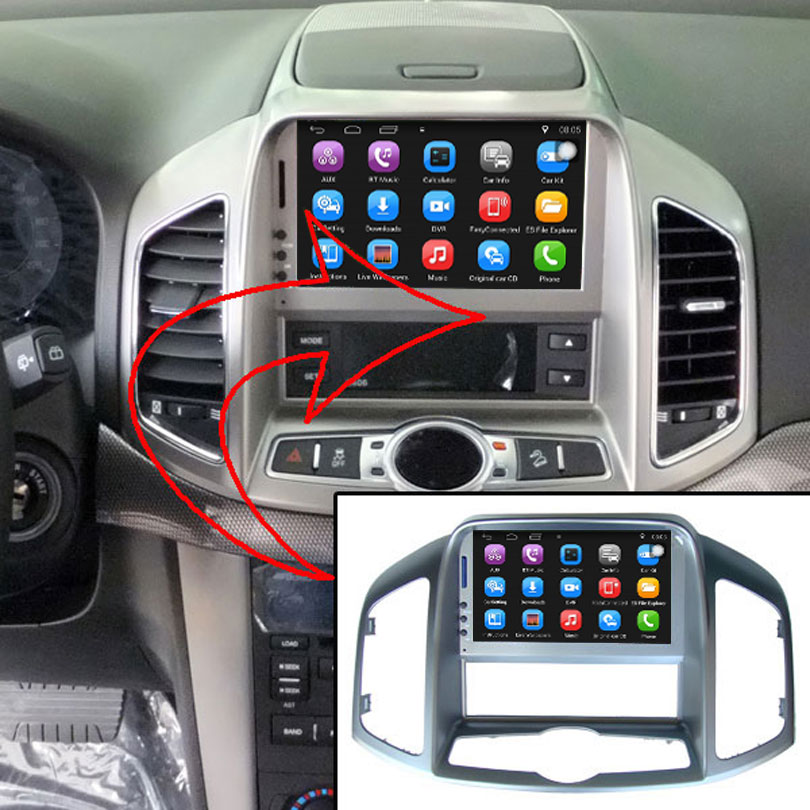 7 inch Car GPS Navigation for Chevrolet Captiva 2008-2012 Car Radio Video Player Support WiFi mobile phone Mirror-link