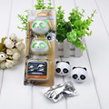 1 Set Panda Car Air-conditioning Outlet Perfume Car Styling Air Freshener Vent Perfume Panda Eyes Will Jump
