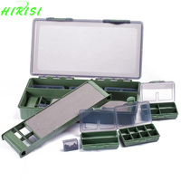 Carp Coarse Sea Fishing Tackle Box Bit Complete Boxes System Ideal For Hooks Swivels Beads Spinners