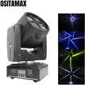 DMX LED Луч 4X10 Вт сценический движущийся головной свет RGBW 4IN1 Радужный эффект потока для диско Шоу DJ Вечеринка Рождество