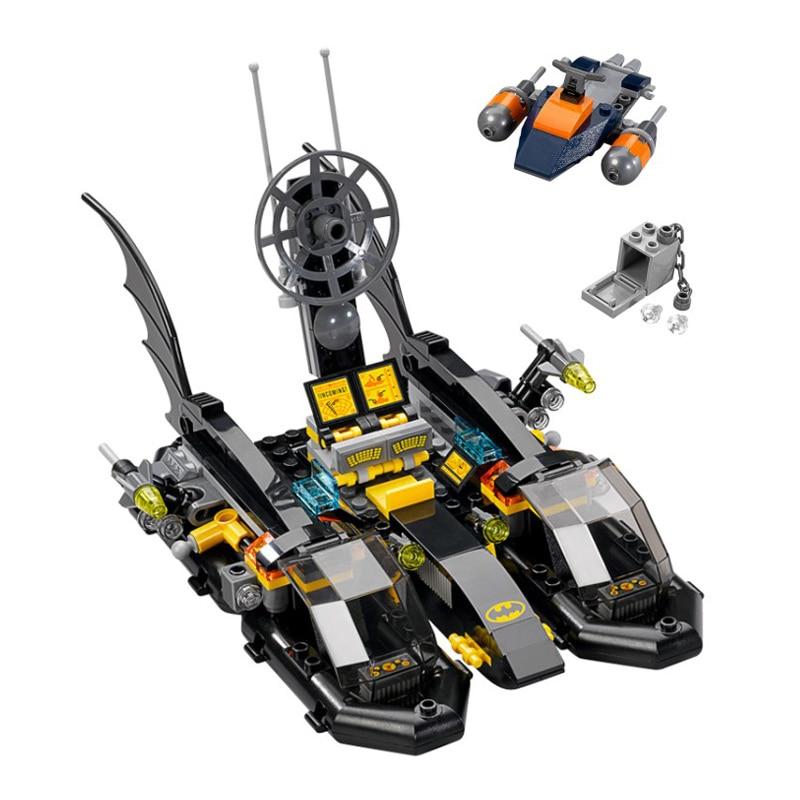 Batman Super Heroes Iron Man Detroit Steel Strikes Building Blocks Bricks Movie Model Kids Toys Marvel Compatible Legoings