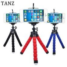 Venda quente do carro suporte do telefone polvo tripé flexível suporte suporte monte monopé selfie styling acessórios para telefone móvel da câmera