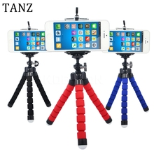 TANZ Car Phone Holder Flexible Octopus Tripod Bracket Selfie Stand Mount Monopod Styling Accessories For Mobile