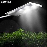 2pc Lot 15led Solar Street Light Solar Powered Light Sensor 2500mAh Lithium Battery Outdoor Waterproof Wall