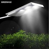Hot 15led solar straat licht zonne-energie light sensor 2500 mAh lithium batterij outdoor waterdichte wandlamp voor tuinpad