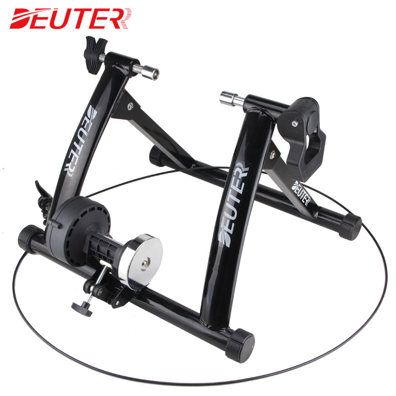 Free Indoor Exercise Bicycle Trainer 6 Levels Home Bike Trainer MTB Road Bike Cycling Training Roller Bicycle Rack Holder Stand