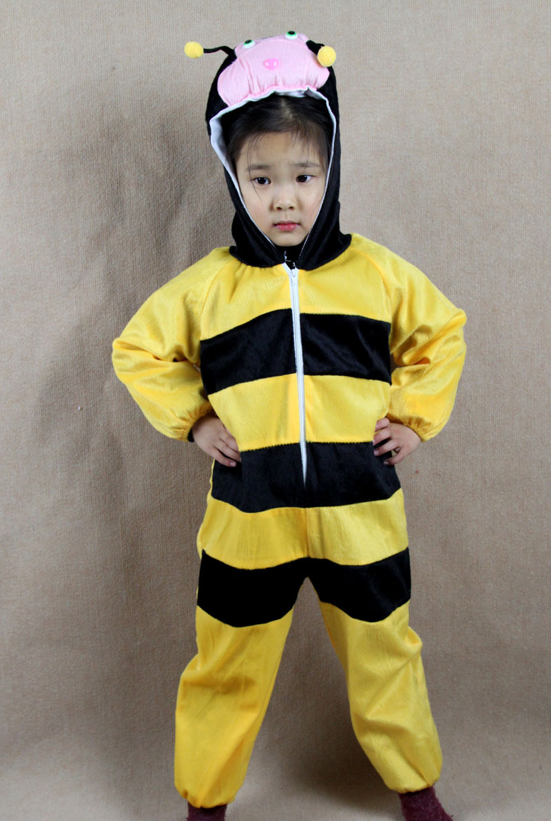 new arrived 2015 fleece baby bee romper kids onesie suit animal costume child autumn and winter clothing new year on aliexpresscom alibaba group