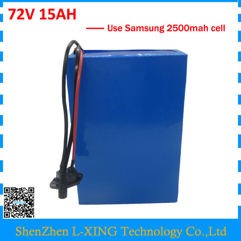 Free customs fee 72V 15AH battery 2000W 72V 15AH lithium scooter battery use for Samsung 25R cell 30A BMS 2A Charger PowerfulFree customs fee 72V 15AH battery 2000W 72V 15AH lithium scooter battery use for Samsung 25R cell 30A BMS 2A Charger Powerful
