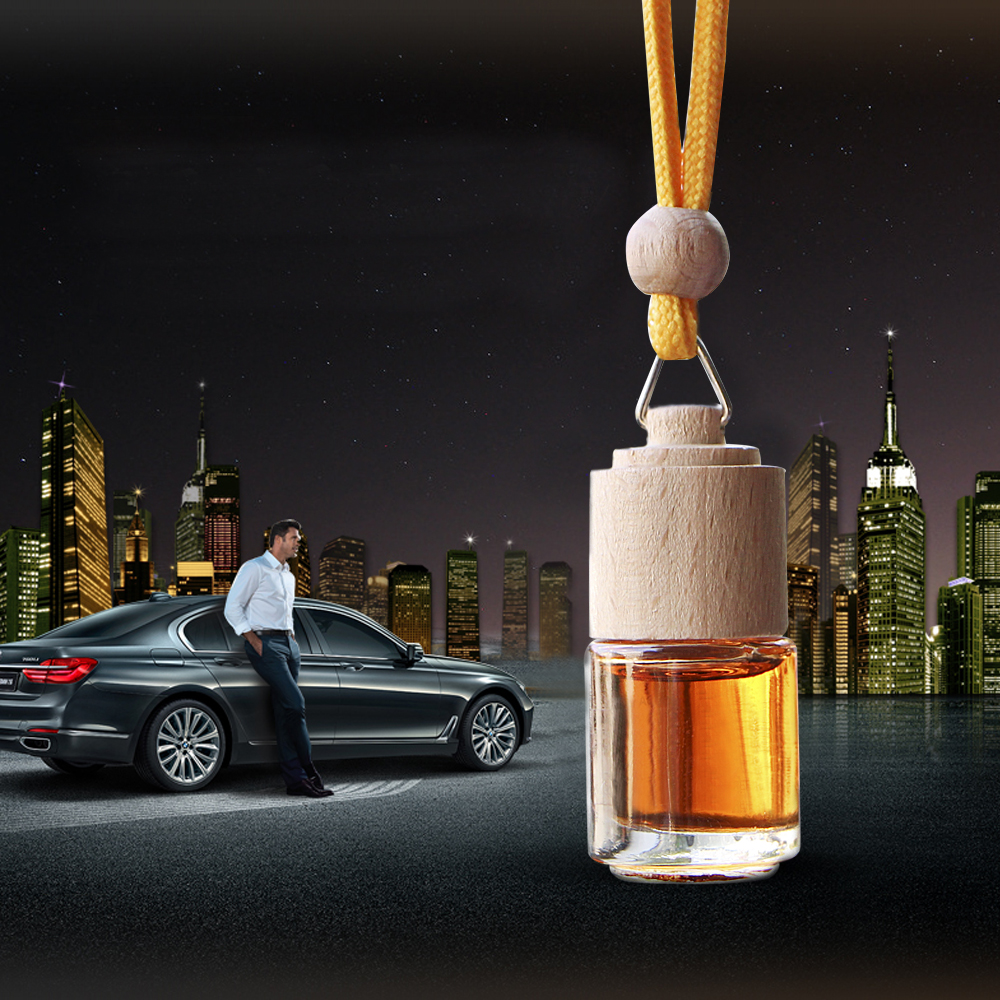 Car Air Freshener Automobiles Perfume Hanging Bottle Pendant Scent Diffuser Air Freshener In Car Accessories Gift Car Perfume