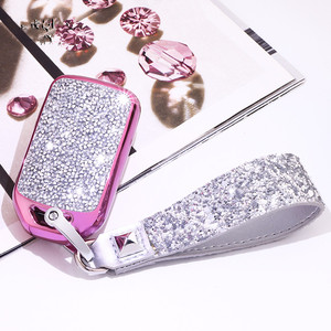 Image 5 - מלאכותי קריסטל מפתח case כיסוי מפתח מקרה מגן פגז מחזיק עבור הונדה Vezel העיר סיוויק ג אז BRV BR V HRV ילדה גברת מתנה