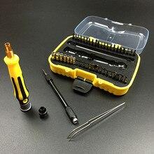 45 En 1 Kit de Reparación de Herramientas de Apertura Para El Teléfono Móvil de Mano Juego de Destornilladores Herramientas de Reparación de Mantenimiento de Equipo Electrónico VER08 T0.45