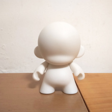 1pc Kidrobot Munny 4 inch DIY Paint Action Figure Vinly Doll White Color With Opp Bag