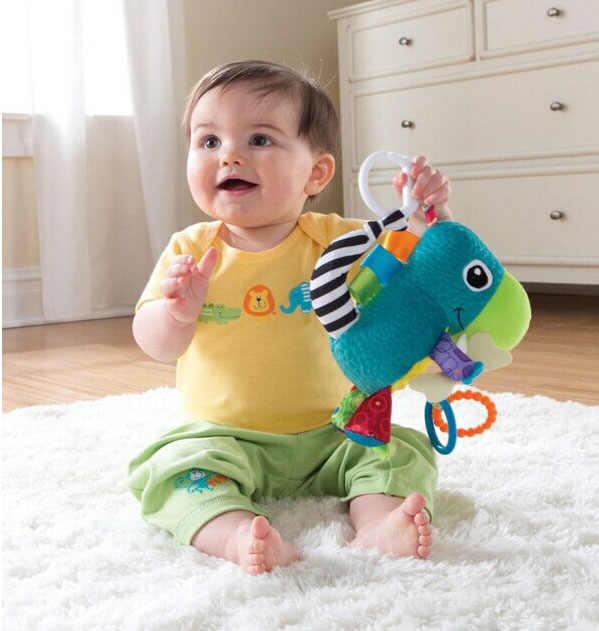 أفخم الحيوان الموسيقية متعددة الاستخدام عربة سيارة مخرطة السرير سرير جرس معلق الوليد الطفل التعليمية خشخيشات اللعب المحمول 0 12 أشهر