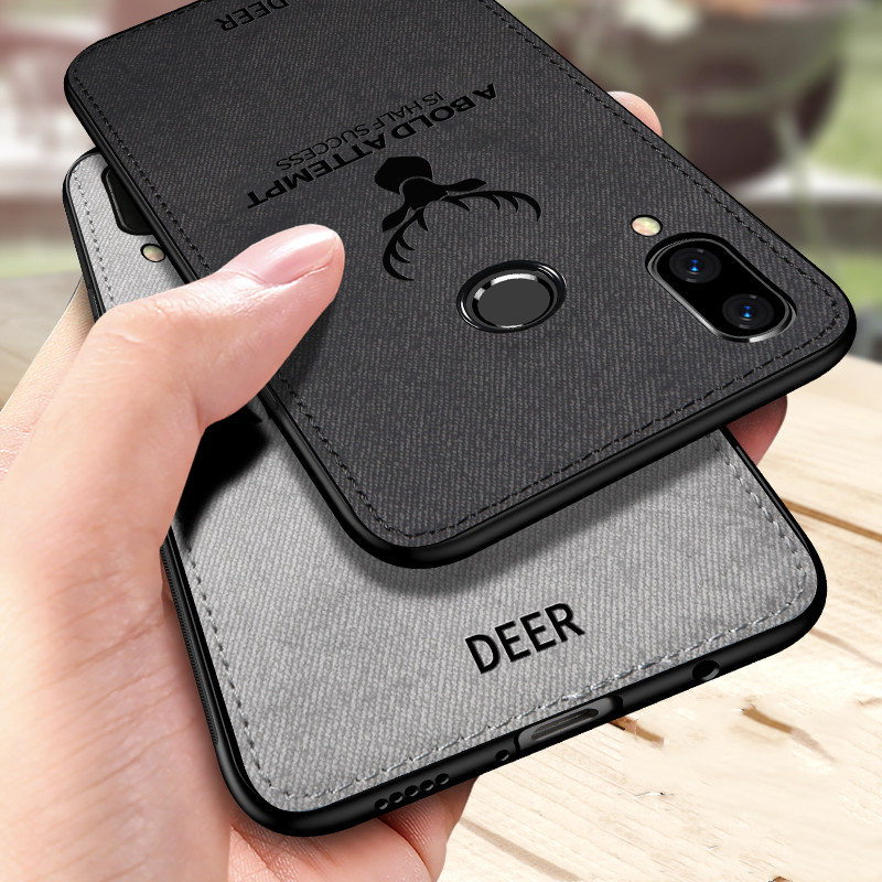 Cloth Phone Case For Honor 10i 20i 9X 8S 8A 8X 8C Deer Case For Huawei P Smart Z Y9Prime 2019 Mate20 P20 P30 Pro Lite Cover Case