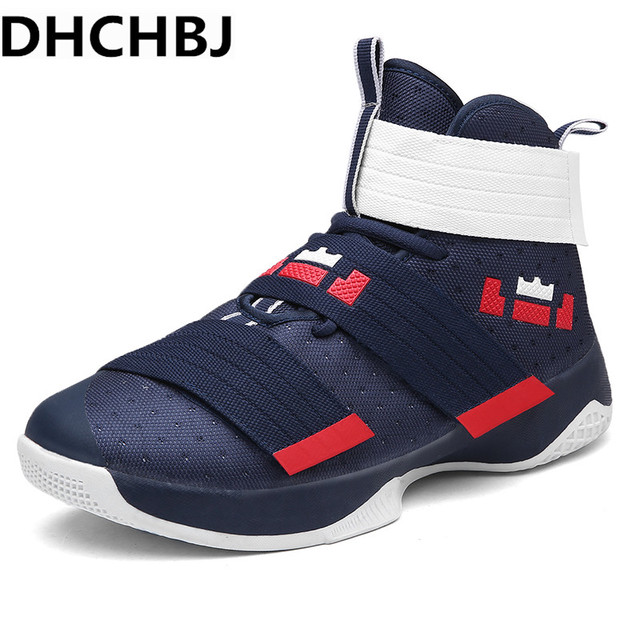 76f8d9503f41 2019 Professional Basketball Shoes Lebron James High Top Gym Training Boots  Ankle Boots Outdoor Men Sneakers Athletic Sport